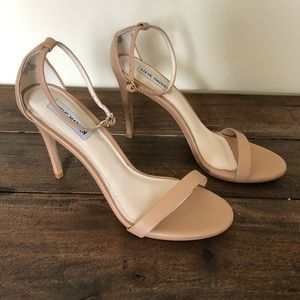 Steve Madden Strappy Nude Pumps
